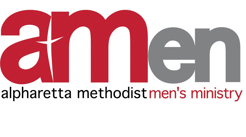 Alpharetta Methodist Men's Ministry (AMen) Logo