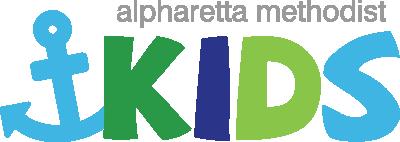 Alpharetta Methodist Kids Ministry Logo