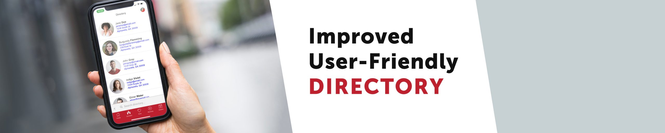 Try our app for an improved, user-friendly directory.