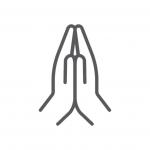 Worship Icon: Praying Hands